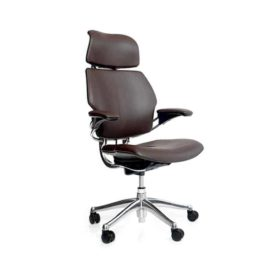 Humanscale freedomheadrest darkbrown q 600