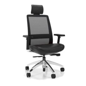 Chaise Artopex blitz executive tetiere black