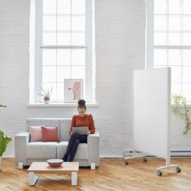 Artopex Perceval armchair table white board tableau blanc