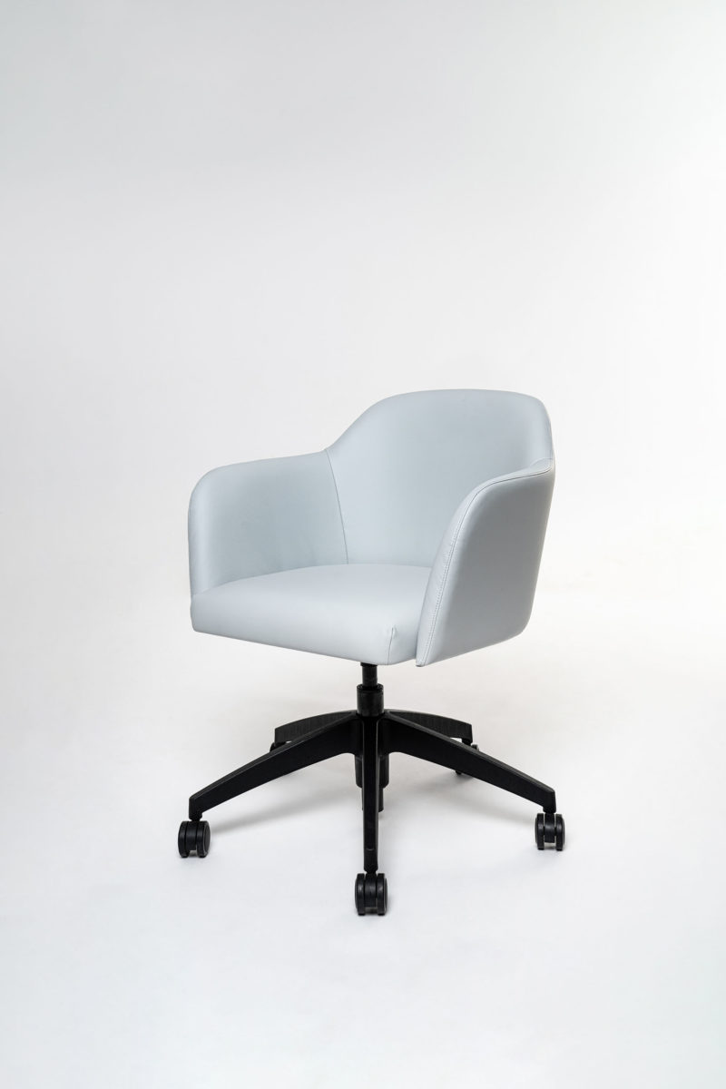Artopex Alexia armchair casters base fauteuil base roulettes