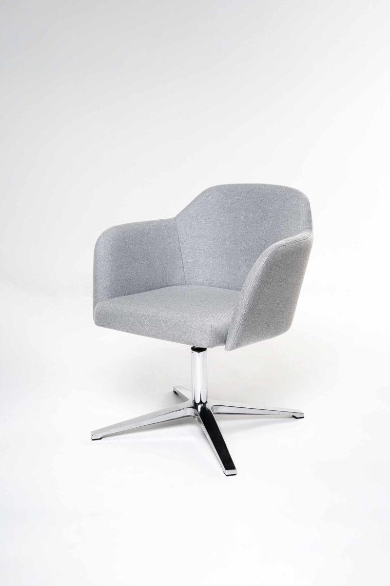 Artopex Alexia armchair cross base fauteuil base croix